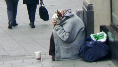 An influx of beggars, many from Romania, has set off hefty debate in Oslo and several other Norwegian cities this summer. PHOTO: Views and News