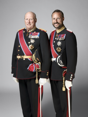 Crown Prince Haakon (right) is due to succeed his father, King Harald V, as monarch, but some think he should ask for a referendum and become an elected king. PHOTO: Det Kongelige Hoff/Sølve Sundsbø