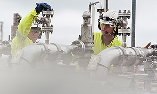 Statoil will use its established pipeline system to send natural gas from the Norway to Germany. PHOTO: Statoil/Helge Hansen