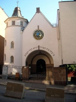 Security around the synagogue in Oslo needs to be improved. PHOTO: Wikipedia