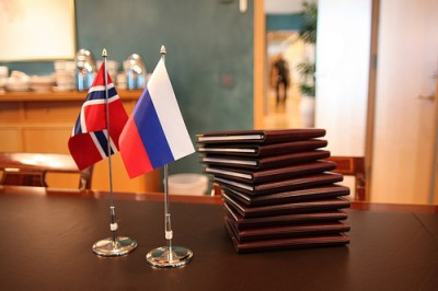 After years of steadily improving relations with neighbouring Russia, Norway worries that things are changing during the second term of President Vladimir Putin. PHOTO: Utenriksdepartementet