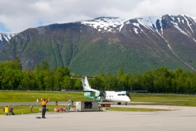 Widerøe is an important short-haul airline because it flies to small airports in outlying districts, especially in northern Norway. It also has some international routes and has been profitable for SAS, but its struggling owner needs the cash a Widerøe sale can raise. PHOTO: newsinenglish.no