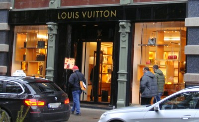 Business has been booming at the Louis Vuitton shop in downtown Oslo. PHOTO: newsinenglish.no