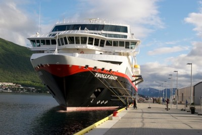 Hurtigruten's shore-based personnel will be berthed in Tromsø soon, too. PHOTO: newsinenglish.no