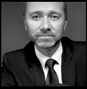 The trade ministry's new official portrait of Giske, taken by well-known photographer Morten Krogvold. PHOTO: Nærings- og handelsdepartementet