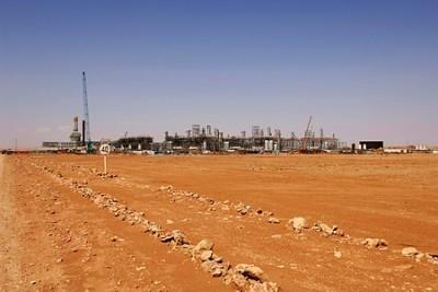 The In Amenas gas production plant is in the Sahara Desert in southeastern Algeria. PHOTO: Statoil/Kjetil Alsvik