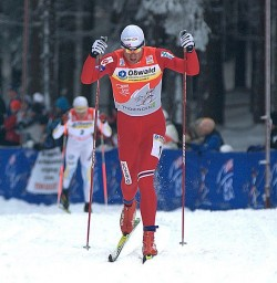Petter Northug failed to win the Tour de Ski here in 2010 and still can't claim a victory after this year's attempt either. Winning it is now his biggest goal for next hear. PHOTO: Wikipedia