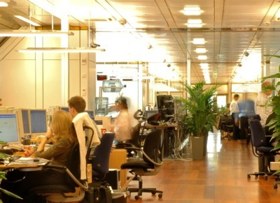 A trading room for the oil fund. PHOTO: Norges Bank Investment Management