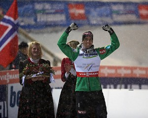 Norwegian ski jumper Anders Bardal also won gold on Saturday, and by the end of the weekend, Norway's medal count was at 10. PHOTO: FIS Nordic World Ski Championships/fiemme2013.com