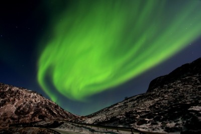 The Northern Lights Can Really Light Up Dark Winter Skies Like Here On