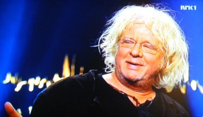 "Artist Odd Nerdrum hasn't been smiling very much in court, but he did here when appearing on the ""Skavlan"" TV talk show when his trials began and perhaps he did this week, upon hearing that Norway's Supreme Court upheld his appeal of his conviction and prison term on tax evasion charges. PHOTO: NRK screen grab/newsinenglish.no"