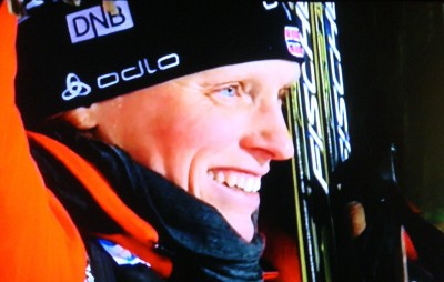 Norway's Tora Berger has emerged as the undisputed queen of this year's Biathlon World Championships in the Czech Republic. PHOTO: NRK screen grab/newsinenglish.no