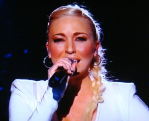 Margaret Berger will represent Norway at the Eurovision Song Contest in May. PHOTO: NRK screen grab/newsinenglish.no