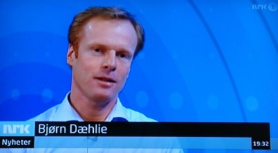 Former skiing champion Bjørn Dæhlie, who went on to a highly successful career as a sportswear producer and real estate developer, went on national television Wednesday evening after being interviewed all day long by Norwegian media outlets as he responded to allegations in a Swedish doping documentary. He was n the offensive, not just the defensive. PHOTO: NRK screen grab/newsinenglish.no