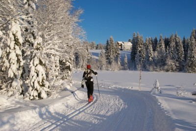 Skiers can choose to either enjoy the solitude of the ski trails around Oslo or join the pack and take part in ski races and events that attract thousands. This photo was taken at Trantjern, just west of the lake known as Mylla in the northernmost areas of Nordmarka. PHOTO: newsinenglish.no