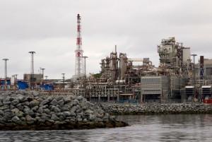 Statoil's plant on Melkøya has had its share of production problems. PHOTO: newsinenglish.no