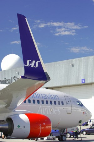 SAS decided this week to challenge a ban on frequent flyer programs on domestic routes in Norway. The government and regulators responded quickly, in an effort to enforce the ban. PHOTO: SAS
