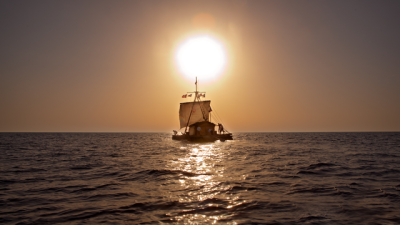 """The sun set on the Norwegian film industry's hopes for an Oscar this year, but the cast and crew of """"Kon-Tiki"""" remained happy that the film was nominated for Best Foreign Language Film at the Academy Awards. PHOTO: Norwegian Film Institute"""