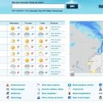 "The Norwegian website ""yr.no"" has become popular around the world. PHOTO: yr.no screen grab"