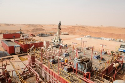 The gas plant at In-Amenas in Algeria is surrounded by desert, which two Statoil survivors had to navigate when fleeing their attackers. PHOTO: Statoil/Øyvind Hagen