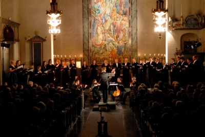 """The choir """"Oslo kammerkor"""" has been among those performing this week at the 13th annual Oslo International Church Music Festival. PHOTO:  Oslo kirkemusikkfestivalen"""