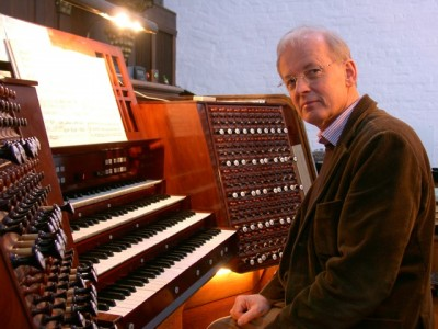 Organist and Professor Bjørn Boysen planned to conduct a tour on Sunday of several of Oslo's churches that have special organs, with students demonstrating them. PHOTO: Oslo kirkemusikkfestivalen