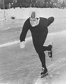 "Hjalmar ""Hjallis"" Andersen died on Wednesday following a fall at his home in Tønsberg. He was one of Norway's most popular and respected athletes ever. PHOTO: Oslo Museum/Wikipedia Commons"
