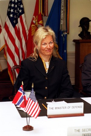 Kristin Krohn Devold in 2002, when she was Norway's defense minister. PHOTO: US Department of Defense