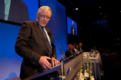 When Inge Lønning spoke, his party colleagues in Høyre fell silent, said several on Monday as they paid tribute to their party elder who died while out skiing with his family on Sunday. The veteran Member of Parliament and former university dean was 75. PHOTO: Høyre