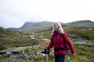 Kristin Krohn Devold had headed the national trekking organization DNT for the past eight years. Now she'll move over to the tourism industry. PHOTO: Den Norske Touristforeningen/Sindre Thoresen Lønnes