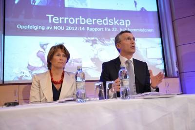 Faremo, Stoltenberg, terror preparedness