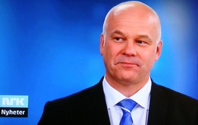 """NRK's new boss has admitted to being """"a bit overwhelmed"""" by the size and power of NRK in Norway, but seemed eager to get to work. Thor Gjermund Eriksen's father worked in the legal office of NRK years ago and Eriksen grew up watching NRK when it was the only TV channel in the country. PHOTO: NRK screen grab/newsinenglish.no"""