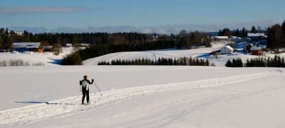 The vast majority of skiers in Norway enjoy relaxing tours over snow-decked terrain, like here on a field not far from Skedsmo, northeast of Oslo last weekend. The country is an international powerhouse in the sport, however, winning more medals this season than ever before. PHOTO: newsinenglish.no