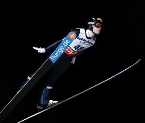 Norwegian ski jumper Anders Jacobsen soared to a bronze medal at the world championships in Italy, despite taking last season off. PHOTO: FIS Nordic World Ski Championships/fiemme2013/Newspower Canon