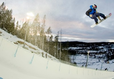 The world's top snowboarders were back in action over the weekend at Wyllerløyper in Oslo, like they were last year as well. PHOTO: Arctic Challenge/Elenora Raggi
