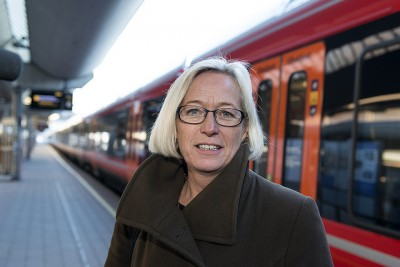 Marit Arnstad, who was transport minister in the former left-center government coalition, was favoured to be Center Party leader but didn't want the job. PHOTO: Senterpartiet