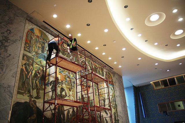 UN Security Council renovation