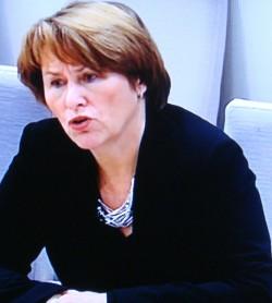 Justice Minister Grete Faremo