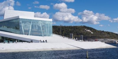 Oslo's Opera House was closed to the public last weekend, and instead leased out for a private wedding. That was catching criticism this week. PHOTO: newsinenglish.no