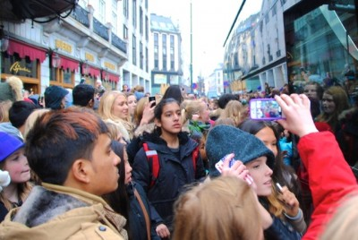 Not all of Justin Bieber's fans were as satisfied as Springsteen's usually are after Bieber's much-hyped concerts in Oslo earlier this month. PHOTO: newsinenglish.no