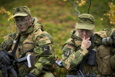 Norwegian women may soon be eligible for the draft, if political momentum towards approval of non-gender compulsory service continues to build. PHOTO: Forsvaret