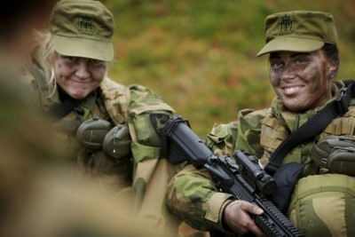 There will likely be more soldiers like this soon in the Norwegian military. PHOTO: Forsvaret