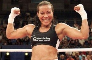 Norway's Cecilia Brækhus dominated Mia St John and easily defended her championship titles during a fight in Denmark over the weekend. PHOTO: World Boxing Association/www.wbanews.com