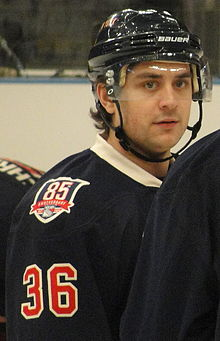 Mats Zuccarello Aasen is caught in a conflict back home in Norway over a sponsor deal. PHOTO: Wikipedia/Michael Miller
