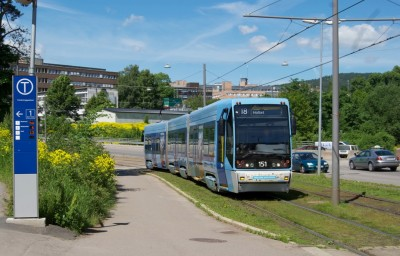 Transit lines 17 and 18 were among those affected by the rust problems on Oslo's Italian-made trams. PHOTO: newsinenglish.no