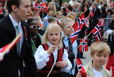 Norway's streets were full of people and parades on the 17th of May, a day now celebrated by a majority immigrants as well as native Norwegians. PHOTO: newsinenglish.no