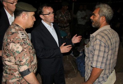 Foreign Minister Espen Barth Eide was in Jordan on Wednesday and Thursday while debate over refugee treatment in Norway continued. PHOTO: Utenriksdepartementet