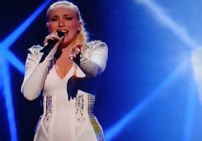 Margaret Berger placed fourth in the Eurovision Song Contest in May and is now working hard on developing her career in music. PHOTO: NRK screen grab/newsinenglish.no