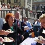 'Gratulerer,' and eat some cake