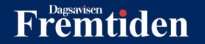 A dummy masthead of Dagsavisen Fremtiden, scheduled to hit the streets in Drammen before the elections.